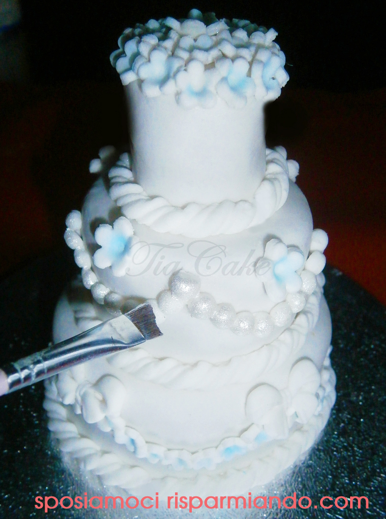 ricetta mini wedding cake